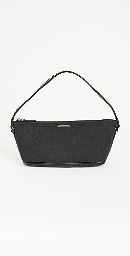 Shopbop Archive - GG 帆布 Gucci Boat 小型手提袋