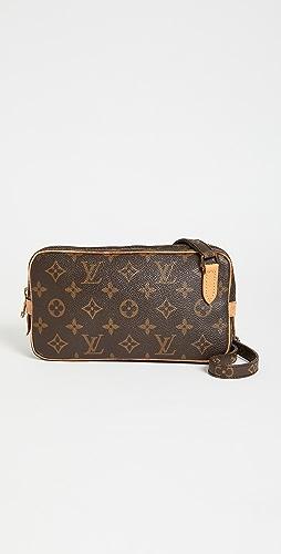 Shopbop Archive - Louis Vuitton Marly Bandouliere 交织字母包
