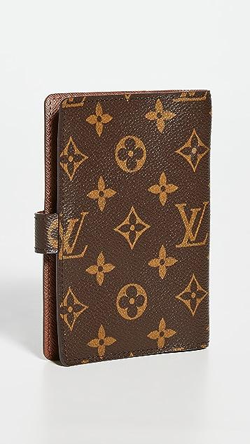 Shopbop Archive Louis Vuitton Agenda Pm 交织字母钱包