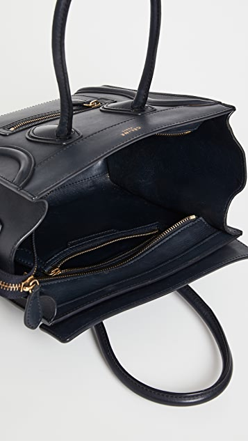 Shopbop Archive Celine Micro Luggage Tote
