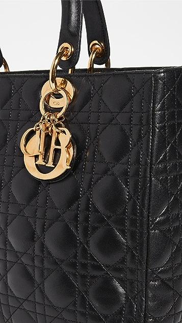 Shopbop Archive Christian Dior Cannage 小绵羊皮手提袋