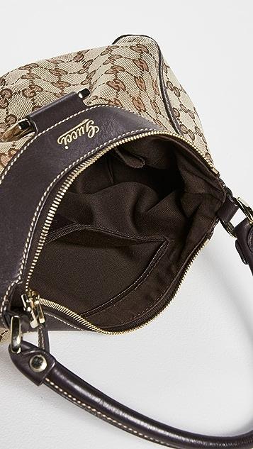 Shopbop Archive Gucci Abbey D 型环半月形单肩包