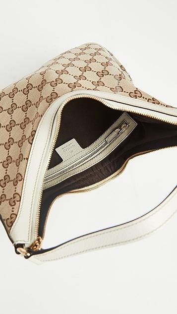 Shopbop Archive Gucci 单肩包,Gg 帆布