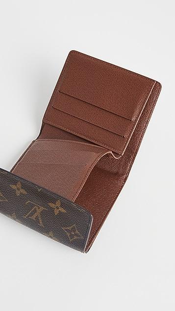 Shopbop Archive Louis Vuitton Portefeuille Elise Tri-fold Wallet