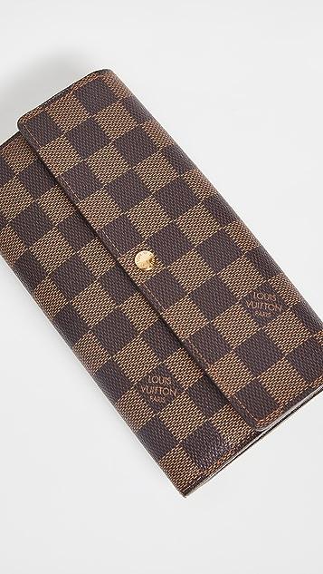 Shopbop Archive Louis Vuitton Sarah 钱包,Damier Ebene