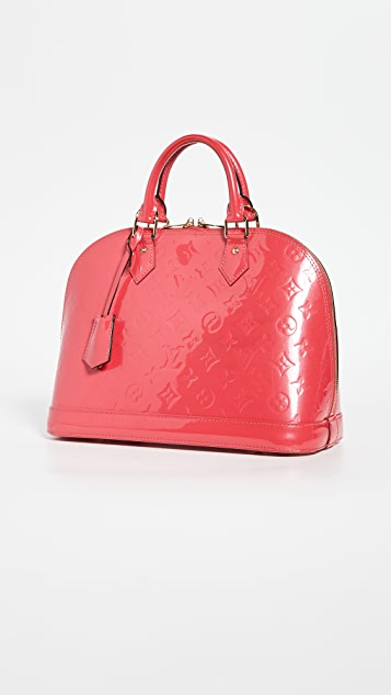 Shopbop Archive Louis Vuitton Alma Pm Monogram Vernis 交织字母包