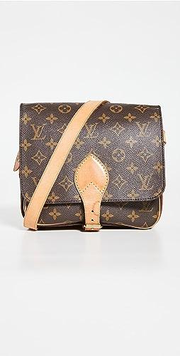 Shopbop Archive - Louis Vuitton Cartouchiere Mm 交织字母包