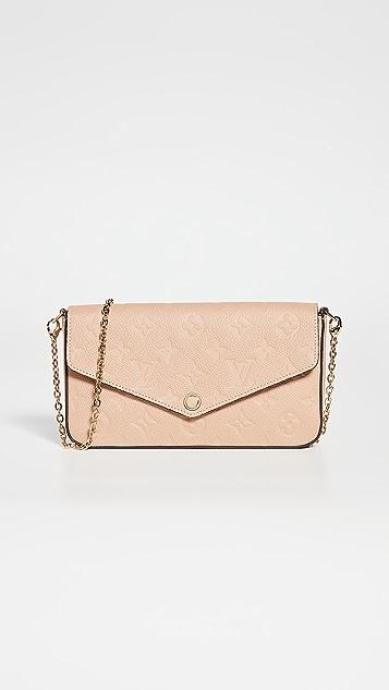 Shopbop Archive Louis Vuitton Felicie 交织字母 Pochette 包