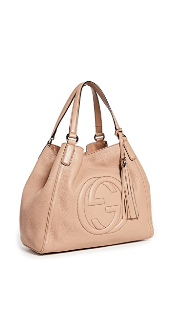 Shopbop Archive Gucci Soho Medium Leather Tote