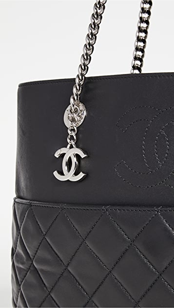 Shopbop Archive Chanel Quilted Tote Lambskin