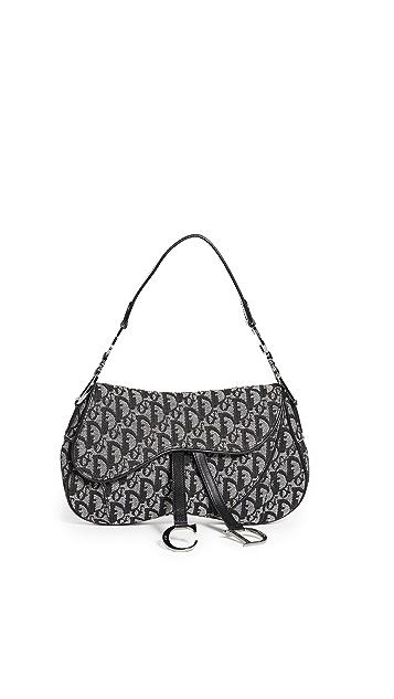 Shopbop Archive Dior Double Saddle Bag