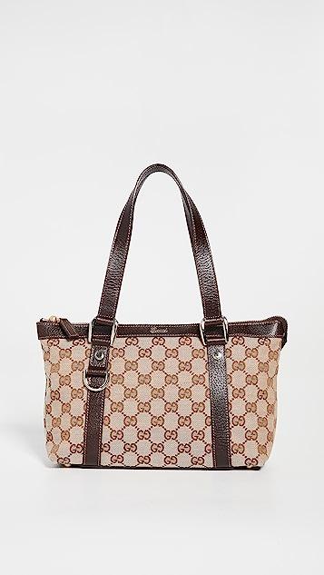 Shopbop Archive Gucci Abbey Zip Medium Tote