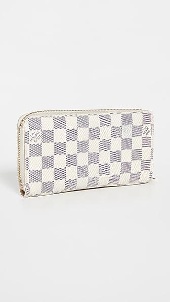 Shopbop Archive Louis Vuitton Zippy Wallet In White