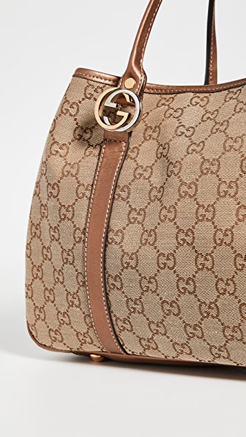 Shopbop Archive Gucci Twins Tote Bag
