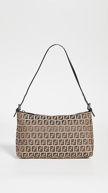 Shopbop Archive Fendi Zucchino Pochette Bag