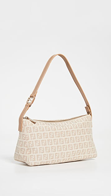 Shopbop Archive Fendi Zucchino Shoulder Bag