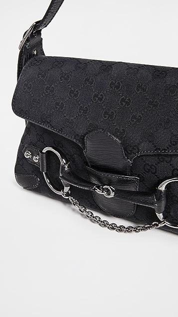 Shopbop Archive Gucci Horsebit Chain Flap Small Bag