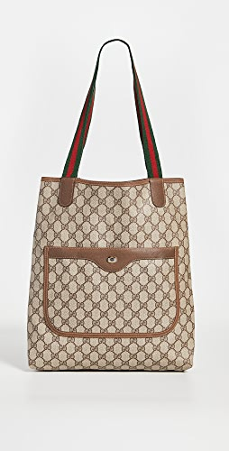 Shopbop Archive - Gucci Gg Plus Sherry Line Tote