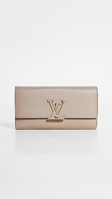Shopbop Archive Louis Vuitton Portefeuille Capucines Wallet