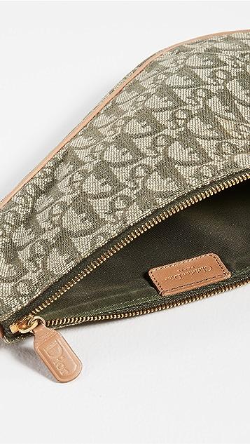 Shopbop Archive Christian Dior Trotteur Saddle Pochette