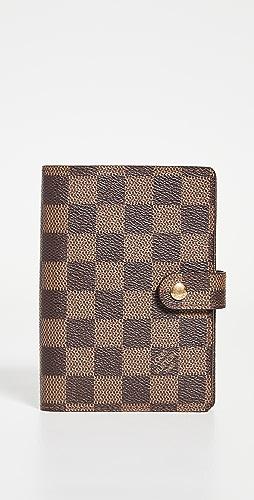 Shopbop Archive - Louis Vuitton Agenda Damier Ebene Wallet