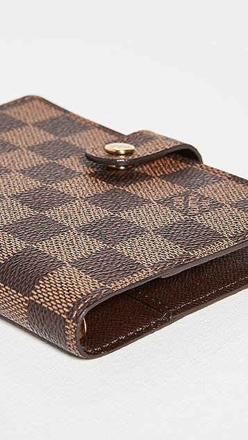 Shopbop Archive Louis Vuitton Agenda Damier Ebene 钱包