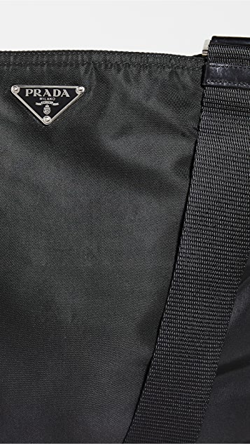Shopbop Archive Prada Flat Nylon Messenger Bag