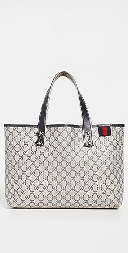 Shopbop Archive - Gucci 织带环圈 Supreme 托特包