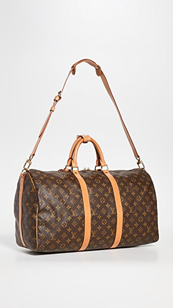 Shopbop Archive Louis Vuitton Keepall Bandouliere Bag
