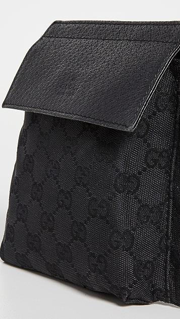 Shopbop Archive Gucci 复古腰包 GG 帆布