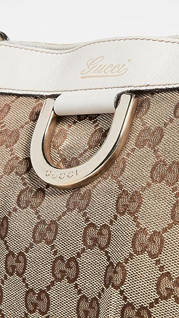 Shopbop Archive Gucci Abbey D 型环信使包