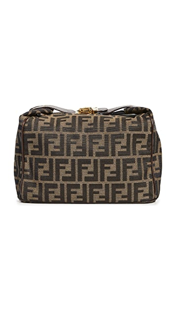 Shopbop Archive Fendi Zucca Small Top Handle Bag
