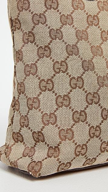 Shopbop Archive Gucci Eclipse 帆布托特包