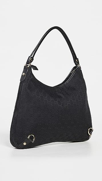Shopbop Archive Gucci Abbey 包,Gg 帆布