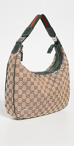 Shopbop Archive - Gucci Medium Pop GG Canvas Hobo Bag