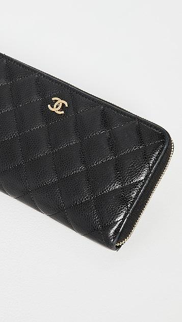 Shopbop Archive Chanel Zip Around Wallet