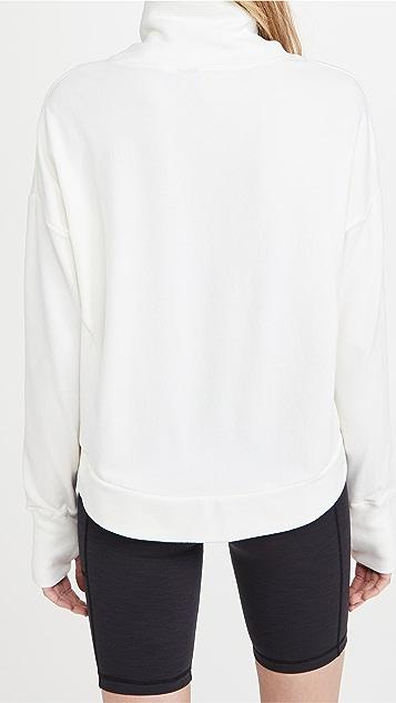 Sweaty Betty Harmonize Luxe Fleece Sweatshirt