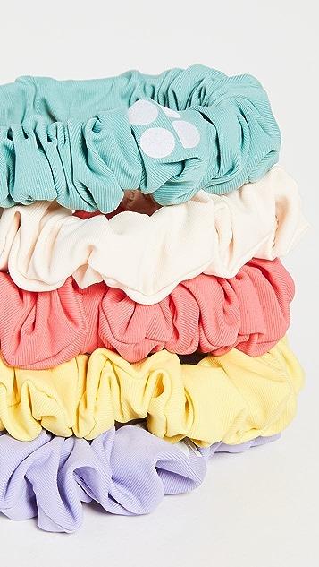 Sweaty Betty Skinny Scrunchie 5 Pack