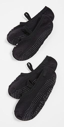 Sweaty Betty - 2 双装普拉提袜子