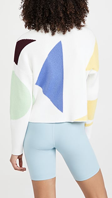 Sweaty Betty Flash Dance Cotton Sweater