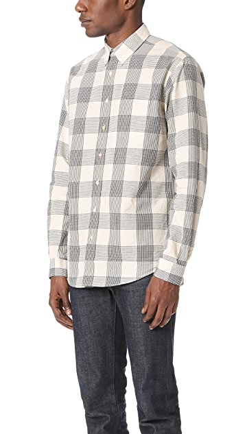 Schnayderman's Leisure Glen Check Shirt