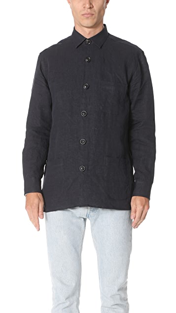 Schnayderman's One Linen Overshirt