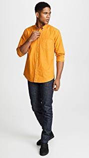Schnayderman's Poplin Dyed Buttondown Shirt