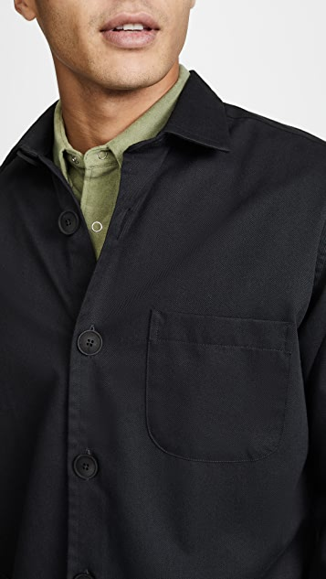 Schnayderman's Tech Solid Overshirt