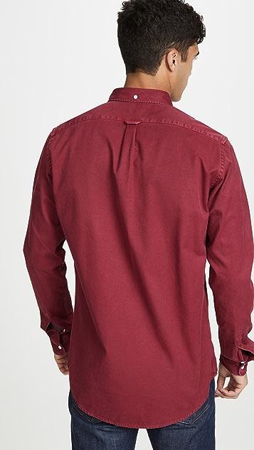 Schnayderman's Button Down Overdyed Shirt