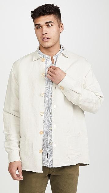 Schnayderman's Linen Overshirt