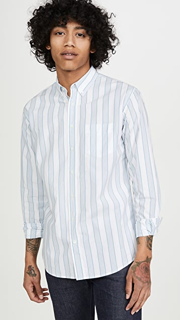 Schnayderman's Striped Long Sleeve Shirt