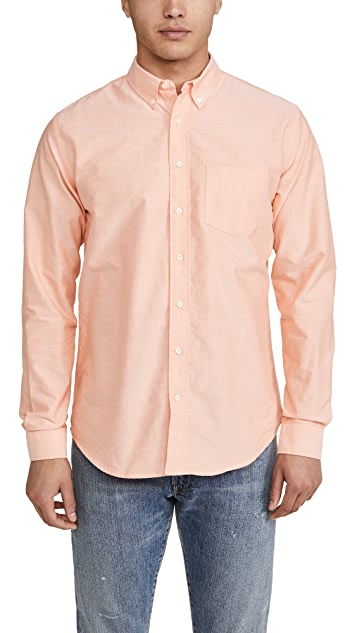 Schnayderman's Long Sleeve Oxford Shirt