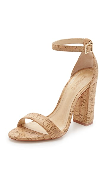 outlet 100% original perfect online Schutz Cork Ankle Strap Sandals low cost VThVCb3T5
