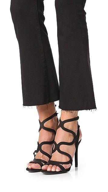 Schutz Lacie Ankle Strap Sandals